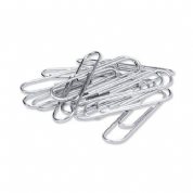 5 Star Office 51 mm Plain Paper Clips (Pkd 100)